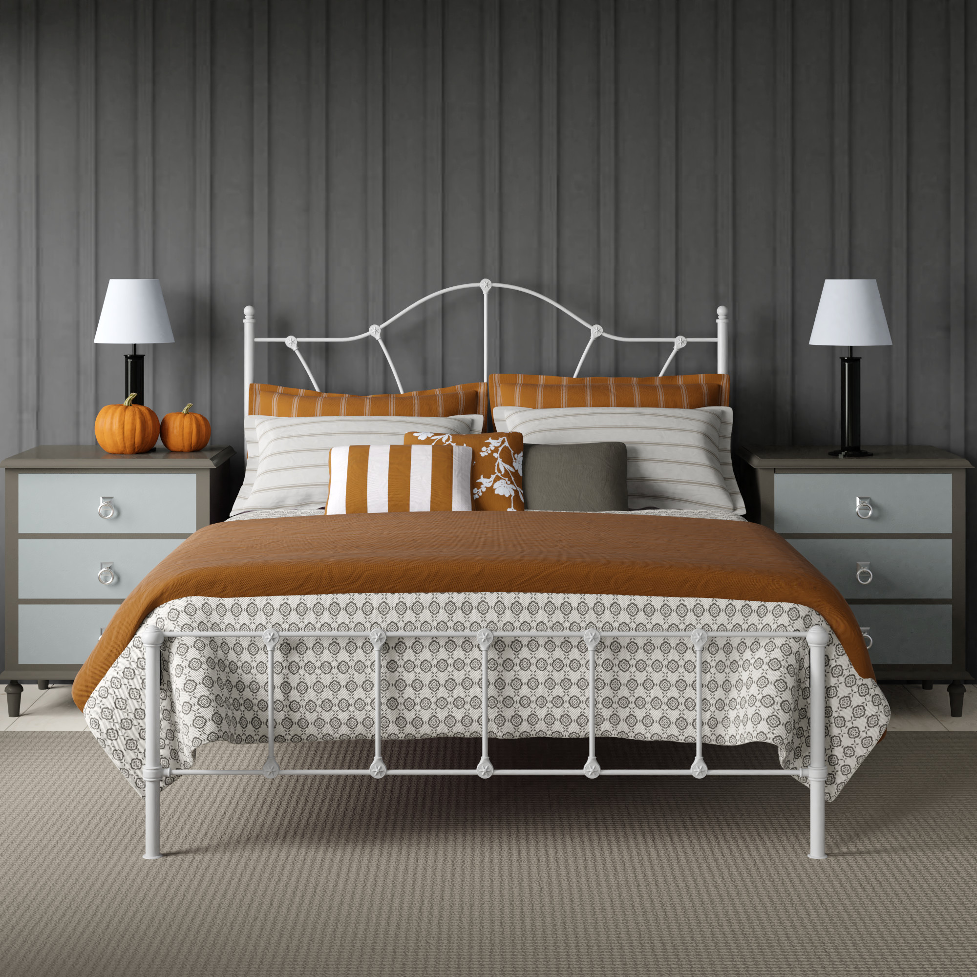 Beds with low footends by The Original Bed Co
