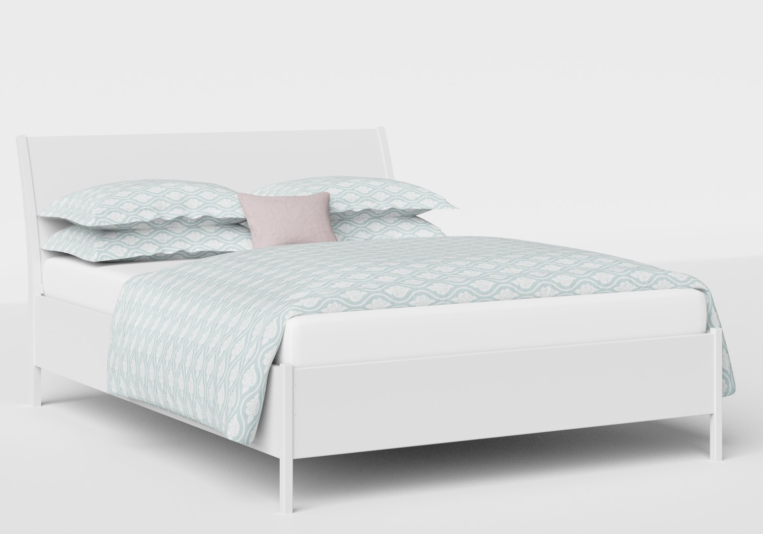 Hunt Wood Bed in White
