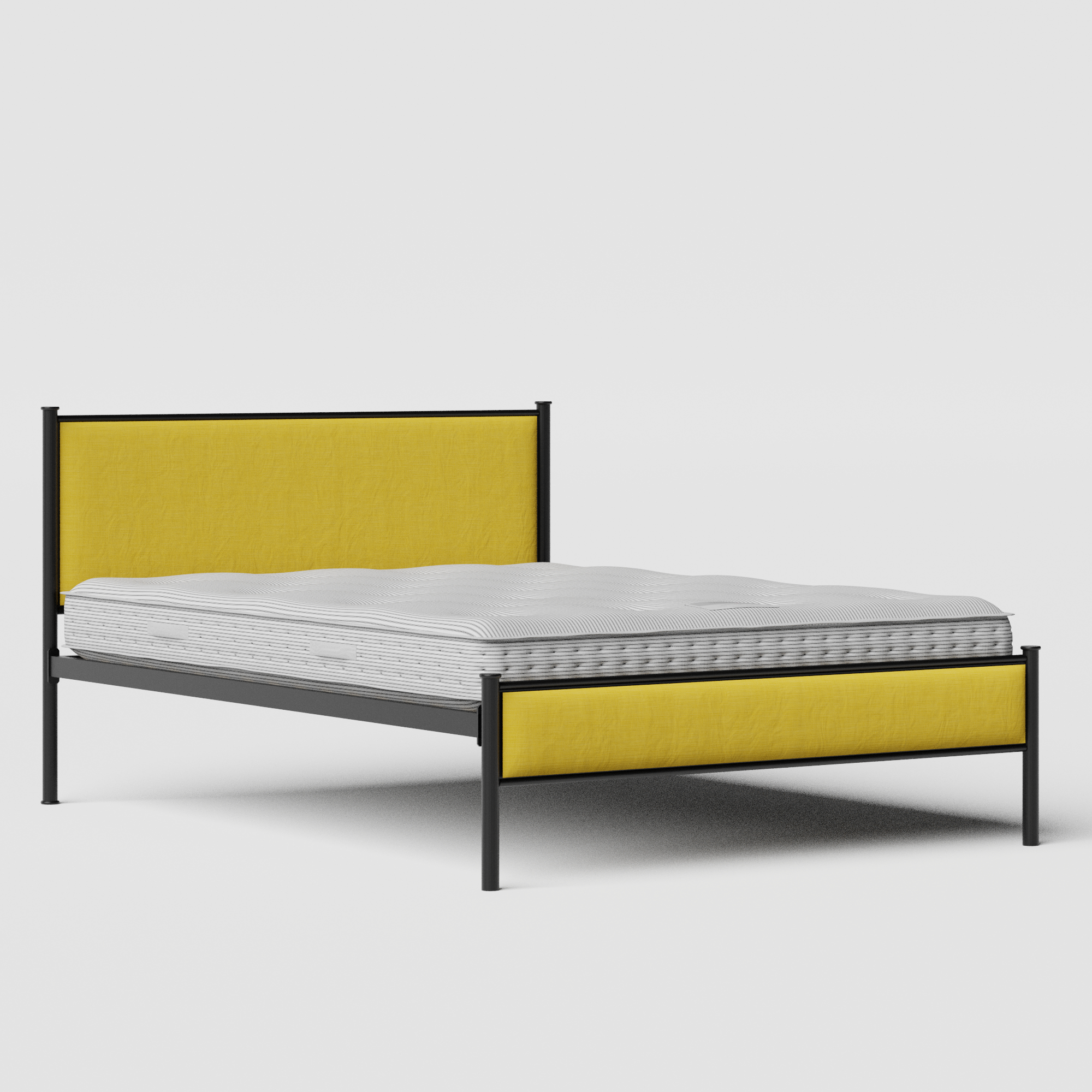 Brest Iron Upholstered Bed Frame The Original Bed Co Uk