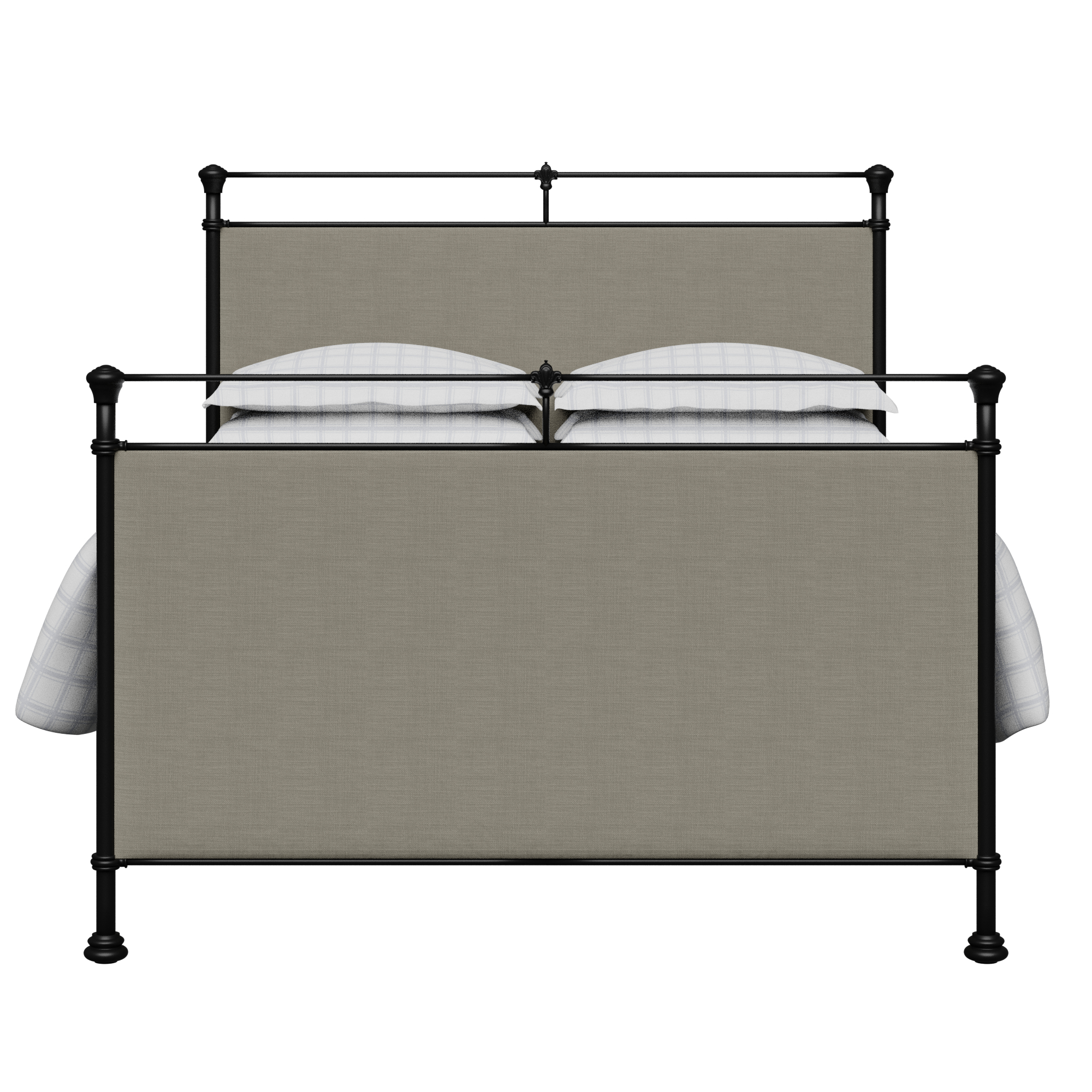 Lille Iron Upholstered Bed Frame The Original Bed Co Uk