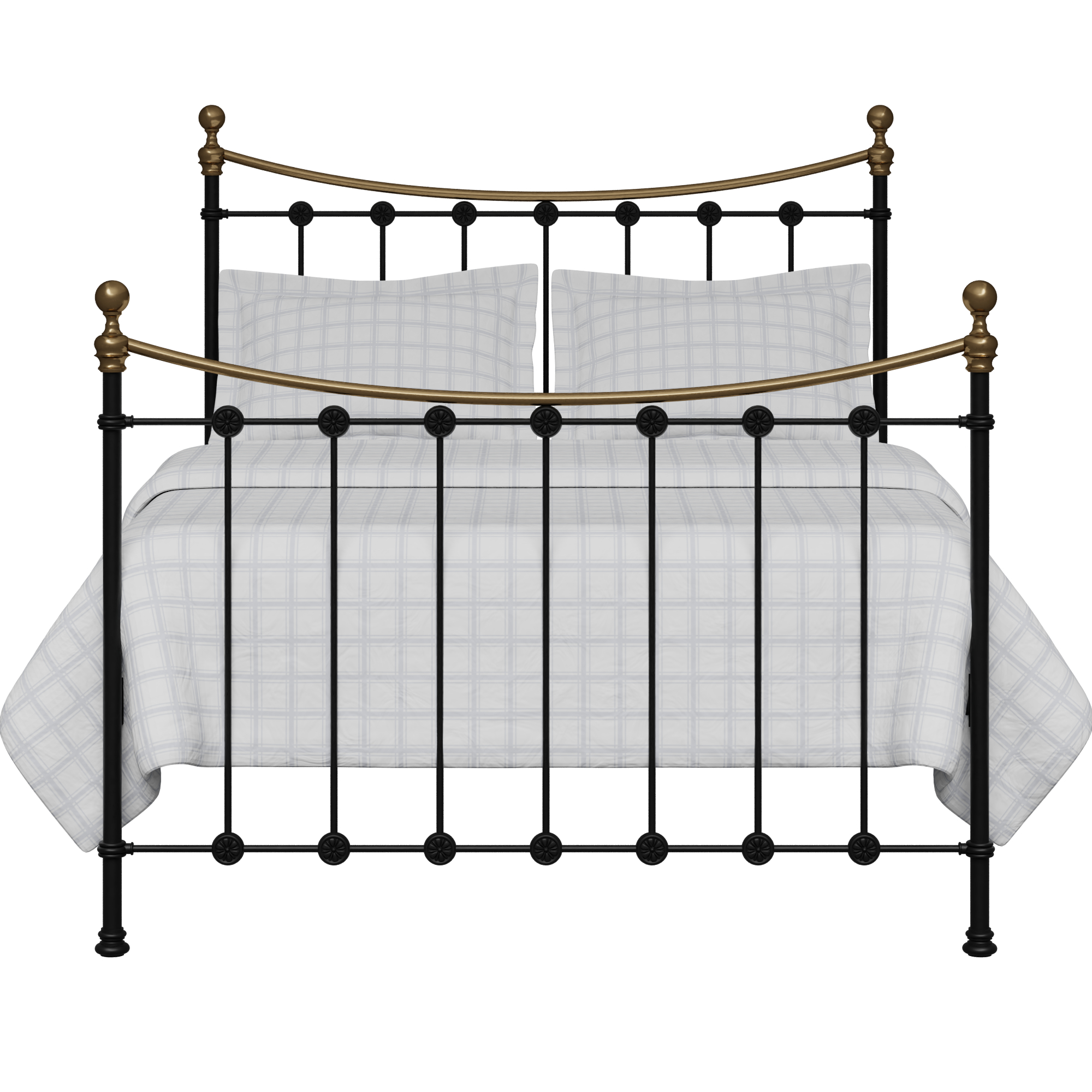 Carrick iron/metal bed in black