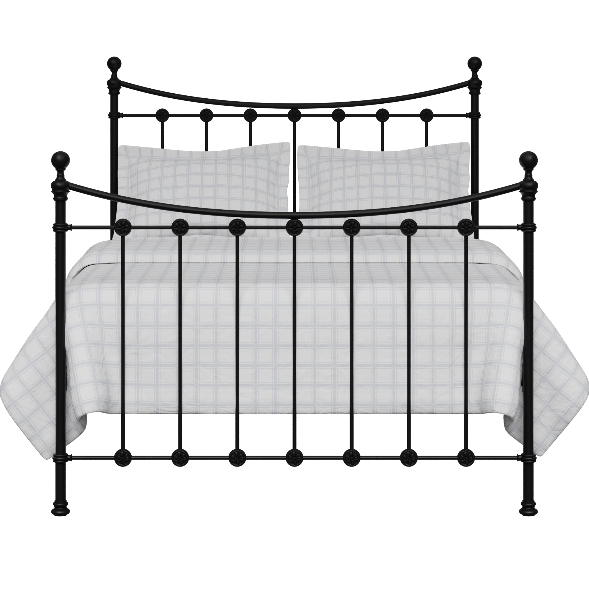 Carrick Solo iron/metal bed in black