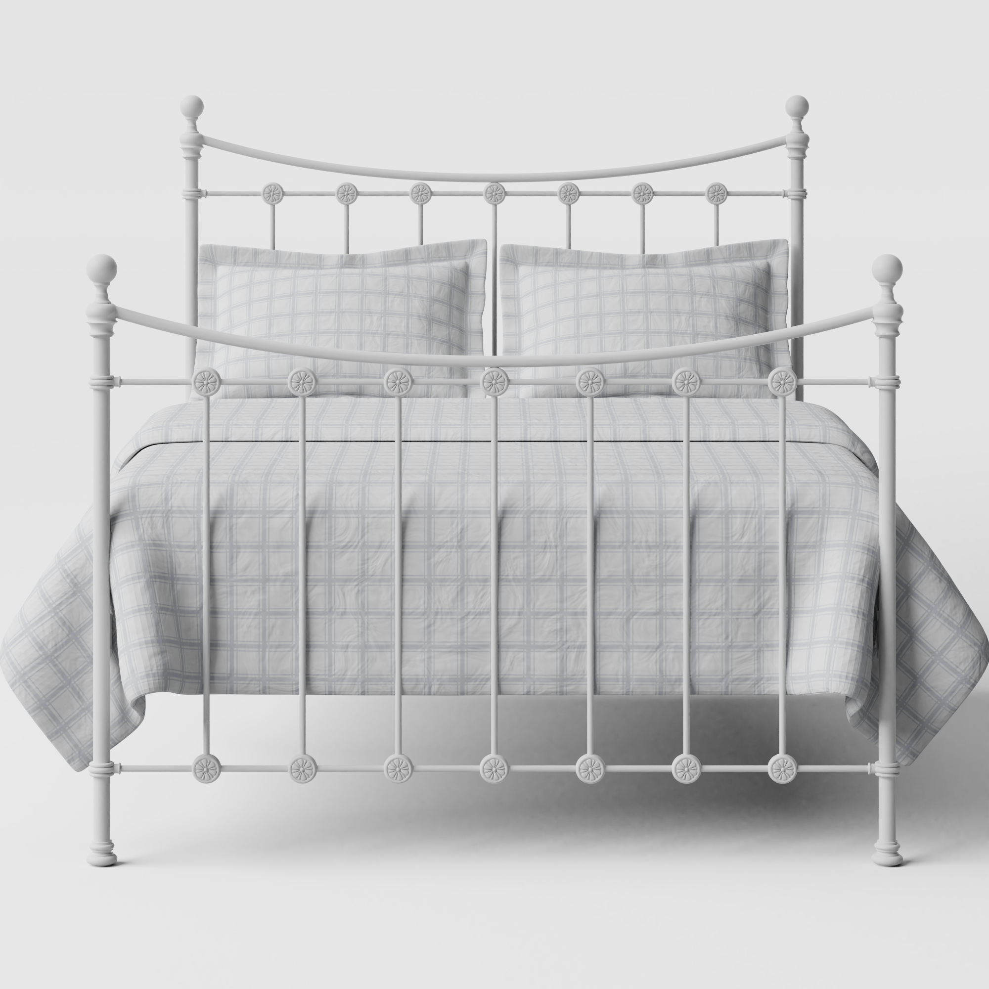 Carrick Solo iron/metal bed in white