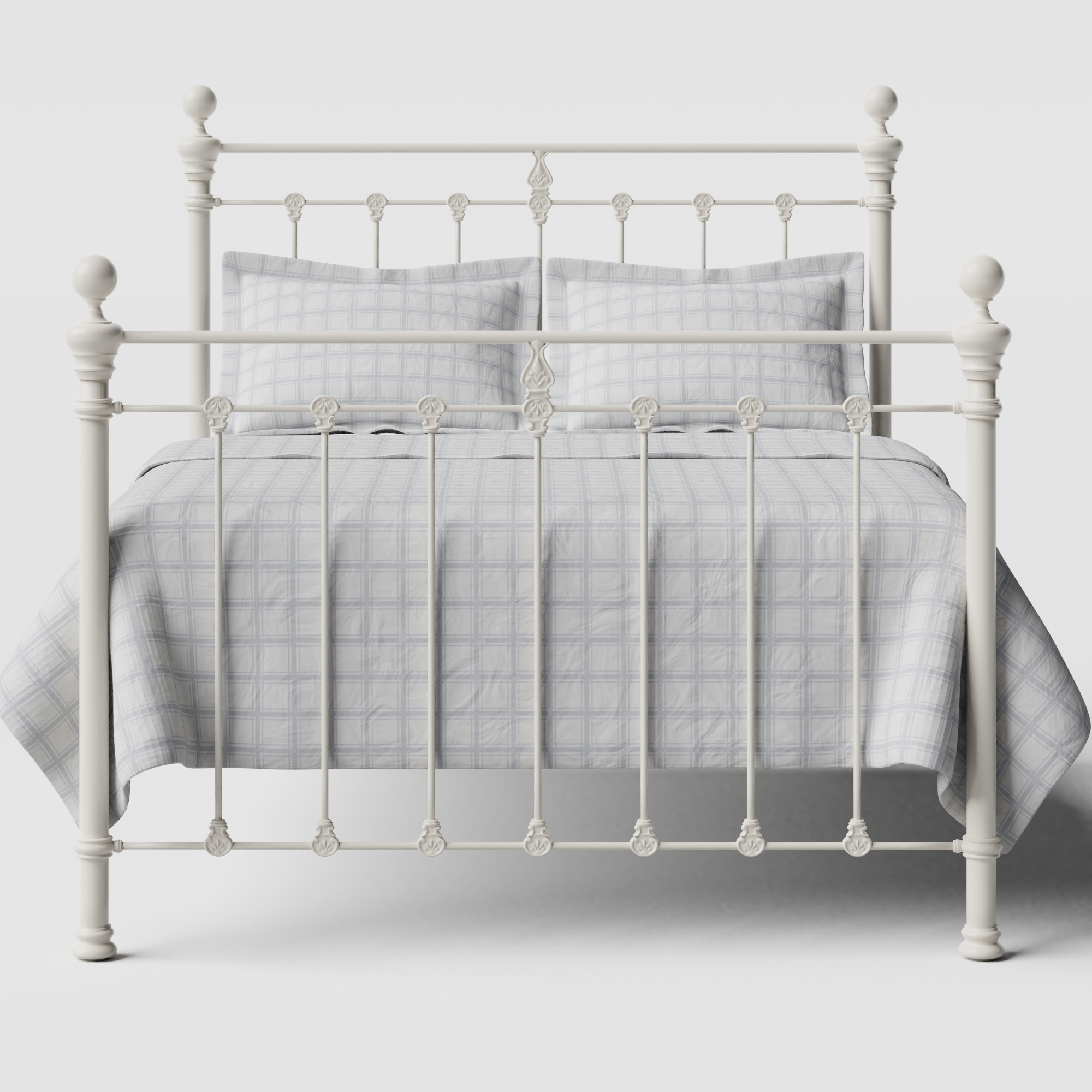 Hamilton Solo iron/metal bed in ivory