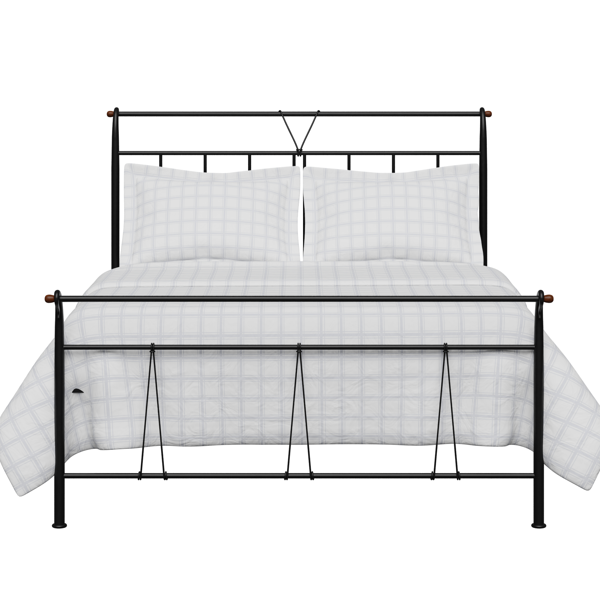 Pellini iron/metal bed in black