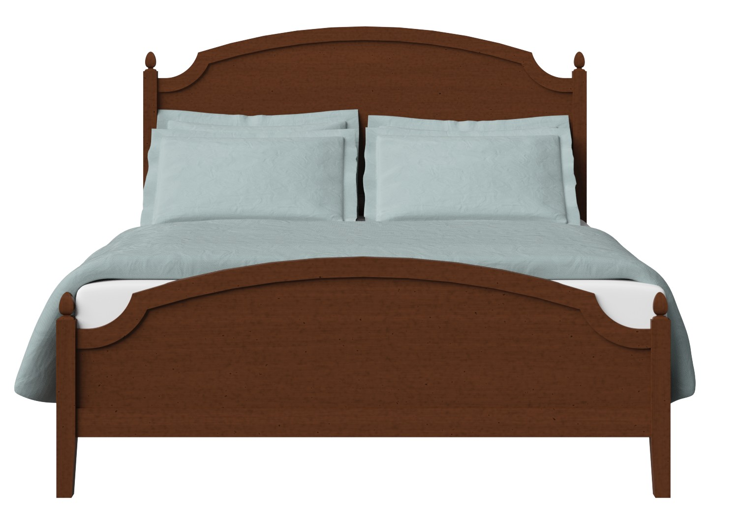 Kipling Low Footend Wood Bed in Dark Cherry