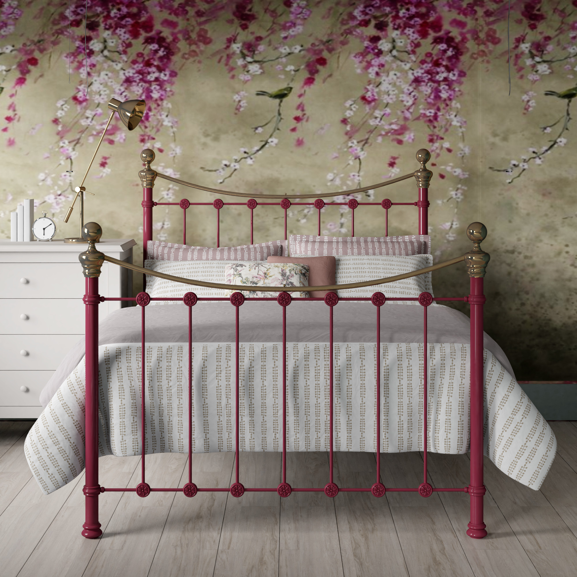 Metal beds and iron bed frames by The Original Bed Co