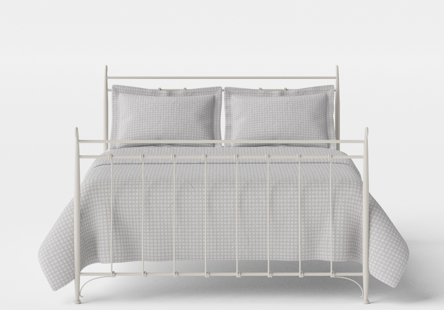 Tiffany iron bed in Glossy Ivory