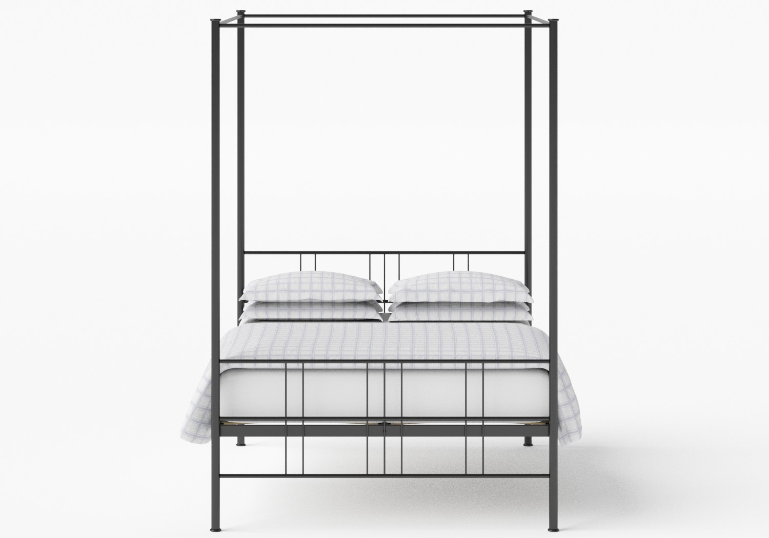 Toulon iron bed in Black