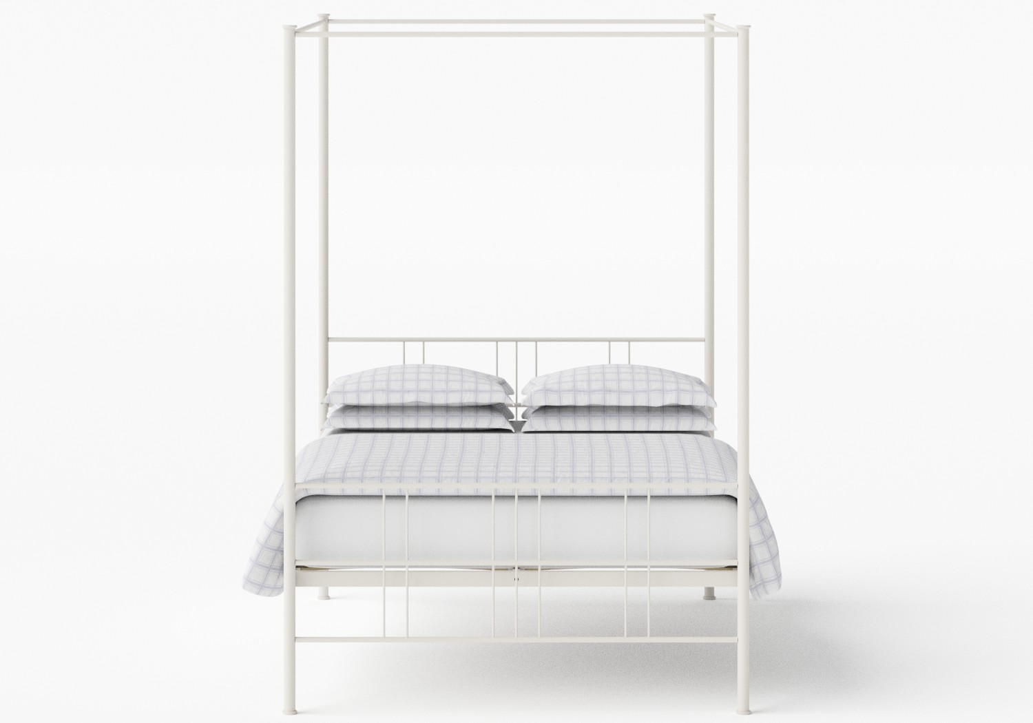 Toulon iron bed in Ivory