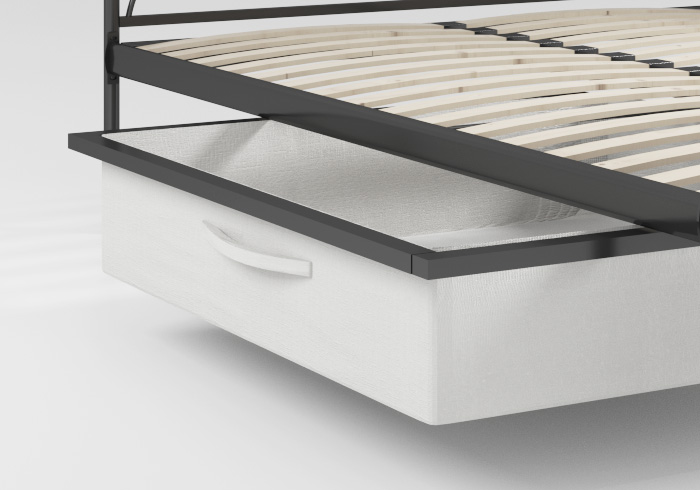 Underbed storage for our range of metal beds