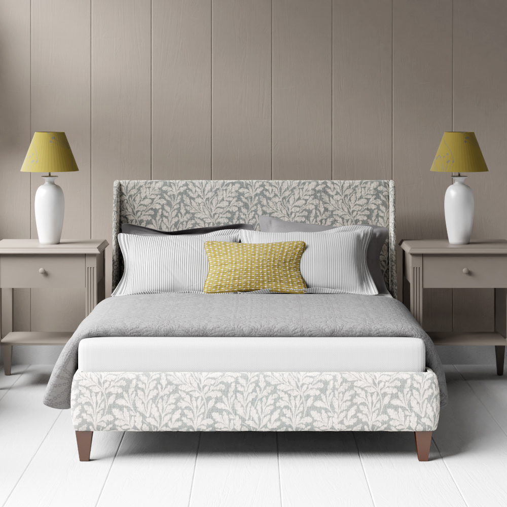 Grey upholstered beds & bed frames by The Original Bed Co