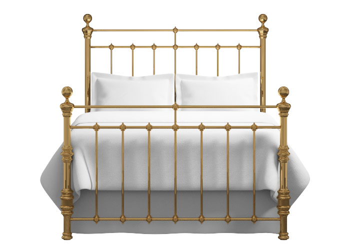 Waterford bed in a brass finish