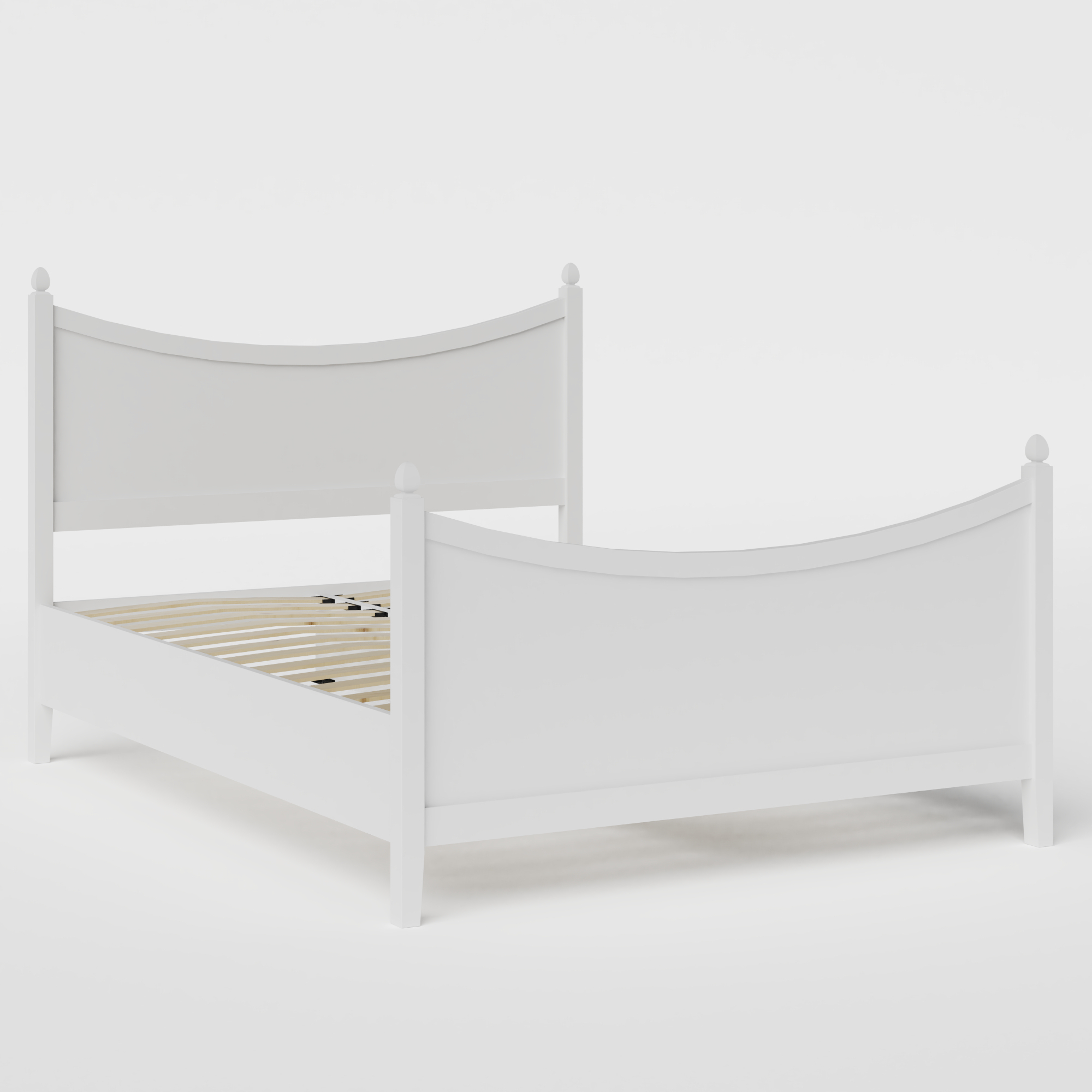 Blake Painted painted wood bed in white