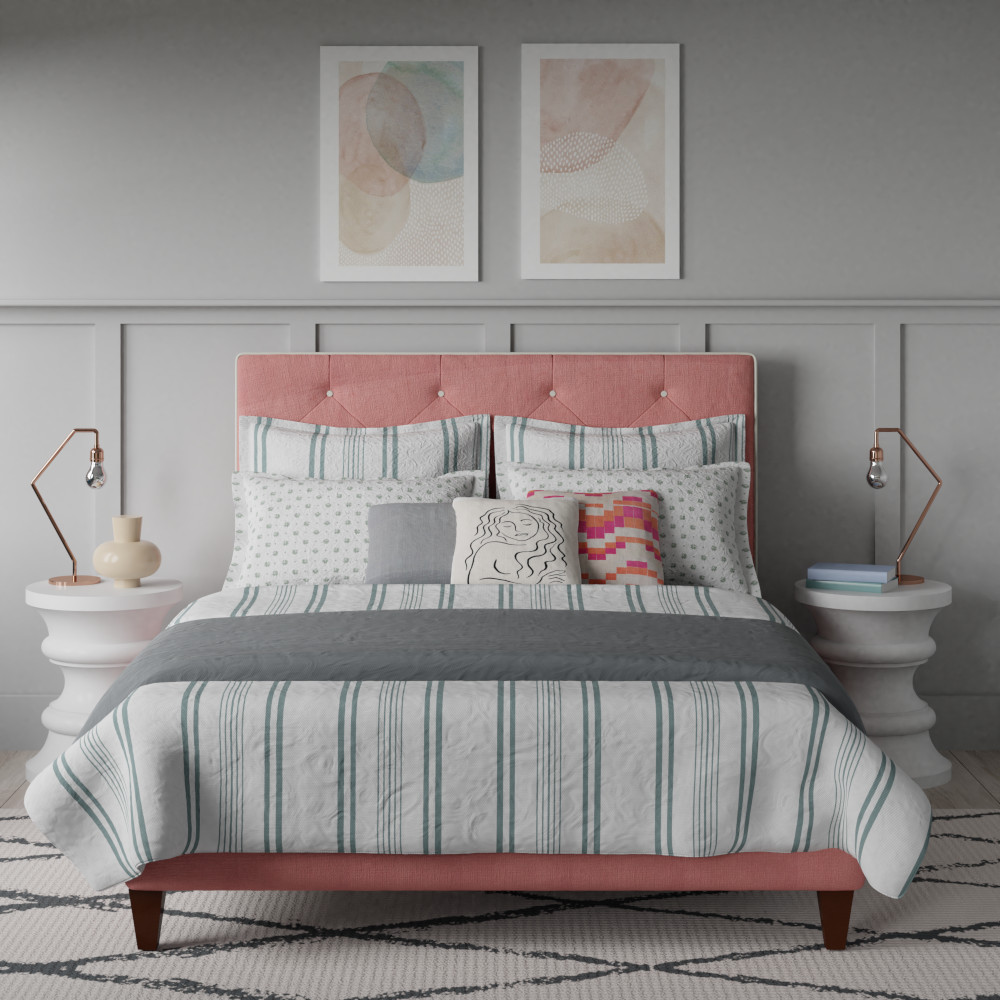 Upholstered bed thumbnail image
