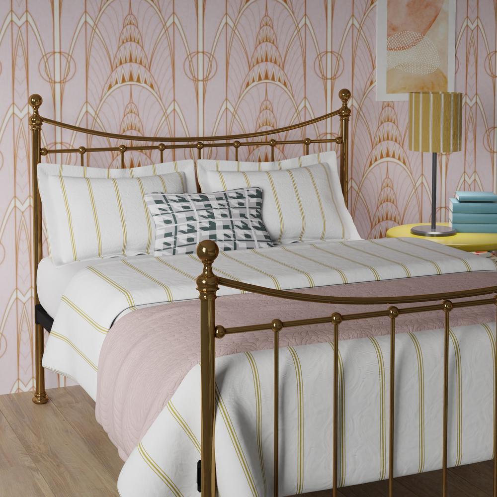 Blyth brass bed