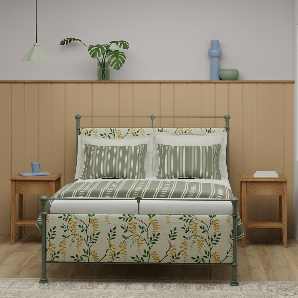 Nancy iron upholstered bed