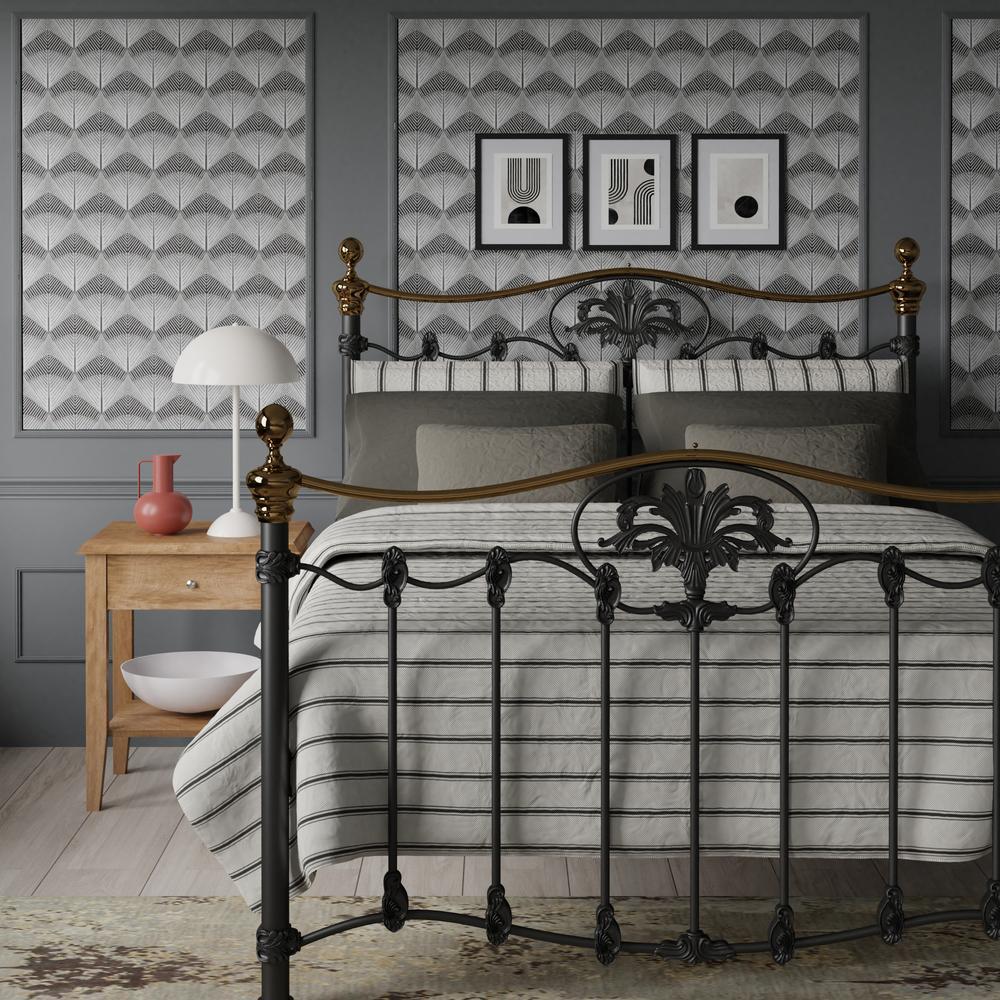 Camolin bed in black