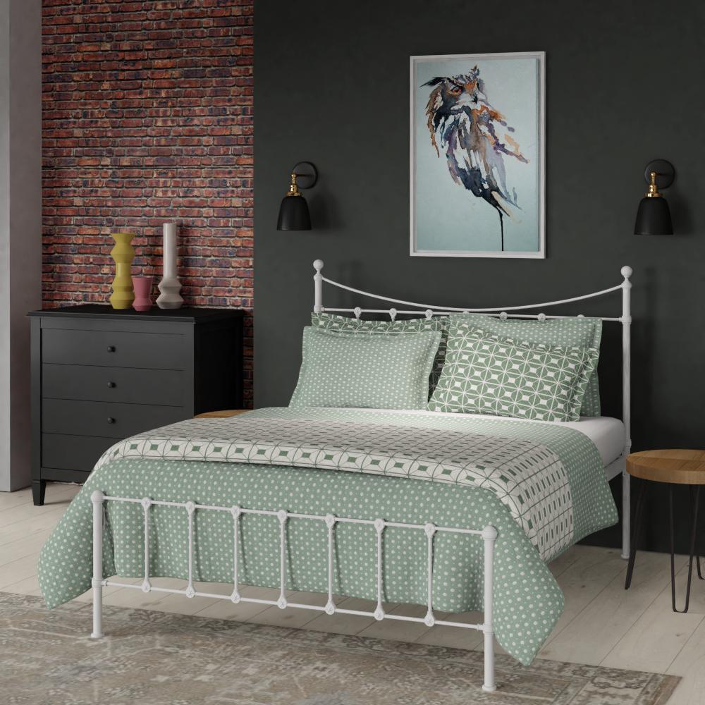 Olivia cast iron bed