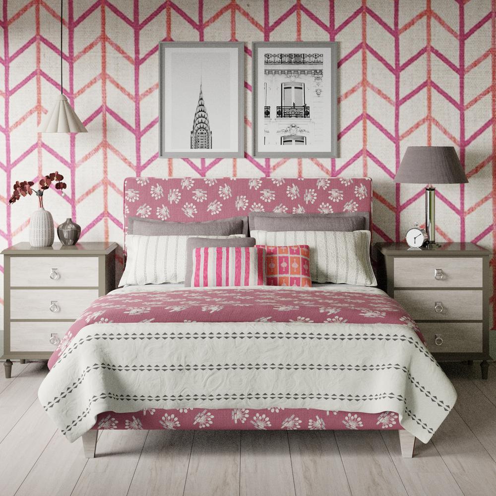 Yushan upholstered bed