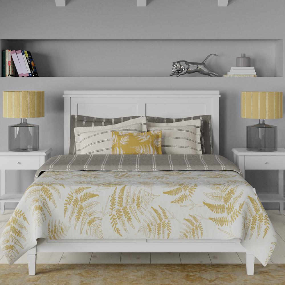 Nocturne bed in grey