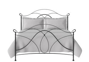 Ardo Iron/Metal Bed in Satin Black - Thumbnail