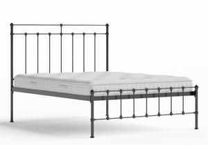 Ashley Iron/Metal Bed in Satin Black shown with Juno 1 mattress - Thumbnail