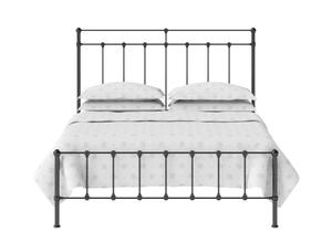 Ashley Iron/Metal Bed in Satin Black - Thumbnail