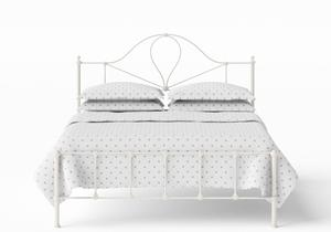 Athena Iron/Metal Bed in Glossy Ivory - Thumbnail