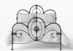 Ballina Iron/Metal Bed in Satin Black - Thumbnail