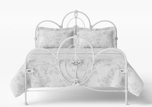Ballina Iron/Metal Bed in Satin White - Thumbnail