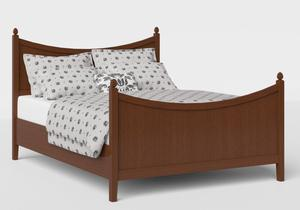 Blake Wood Bed in Dark Cherry - Thumbnail