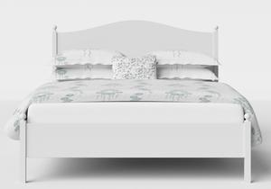 Brady Wood Bed in White - Thumbnail