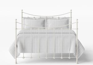 Chatsworth Iron/Metal Bed in Glossy Ivory - Thumbnail