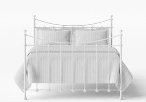 Chatsworth Iron/Metal Bed in Satin White - Thumbnail