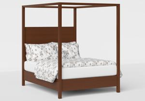 Churchill Wood Bed in Dark Cherry - Thumbnail