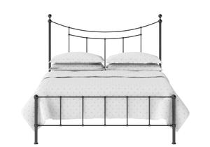 Isabelle Iron/Metal Bed in Satin Black  - Thumbnail