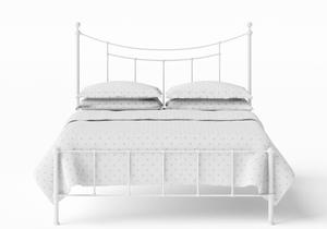 Isabelle Iron/Metal Bed in Satin White - Thumbnail