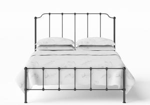 Julia Iron/Metal Bed in Satin Black - Thumbnail