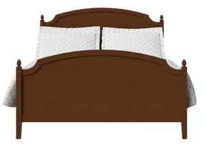 Kipling Wood Bed in Dark Cherry - Thumbnail