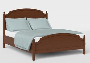 Kipling Low Footend Wood Bed in Dark Cherry - Thumbnail