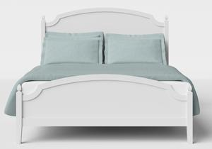 Kipling Low Footend Wood Bed in White - Thumbnail