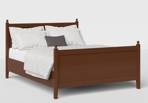 Marbella Wood Bed in Dark Cherry - Thumbnail