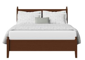 Marbella Low Footend Wood Bed in Dark Cherry - Thumbnail