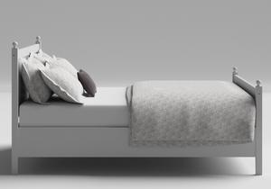 Marbella Wood Bed in White - Thumbnail