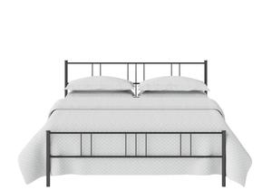Mortlake Iron/Metal Bed in Satin Black - Thumbnail