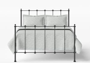 Paris Iron/Metal Bed in Satin Black - Thumbnail