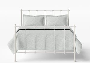Paris Iron/Metal Bed in Glossy Ivory - Thumbnail