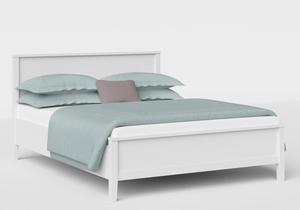 Ramsay Wood Bed in White - Thumbnail
