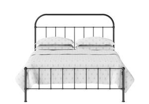 Solomon Iron/Metal Bed in Satin Black  - Thumbnail